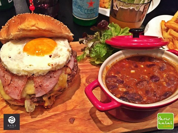Manhattan burger chili con carne
