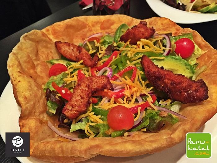 Tacos Poulet Baïli