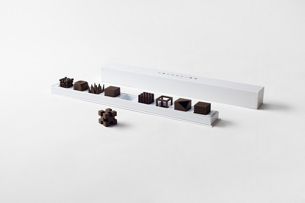 nendo chocolat texture