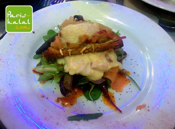 Tartine Salardaise saumon
