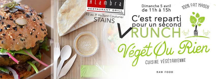Nouveau Vrunch végétarien