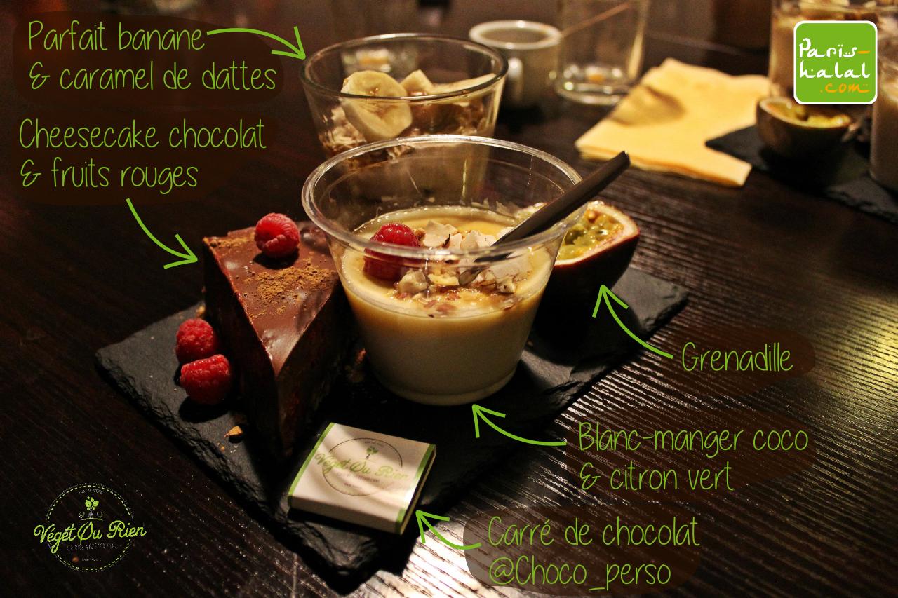 Desserts Végét' Ou rien