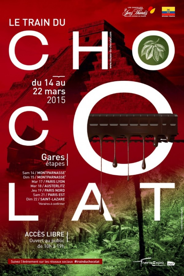 Train du chocolat du 14 au 22 mars