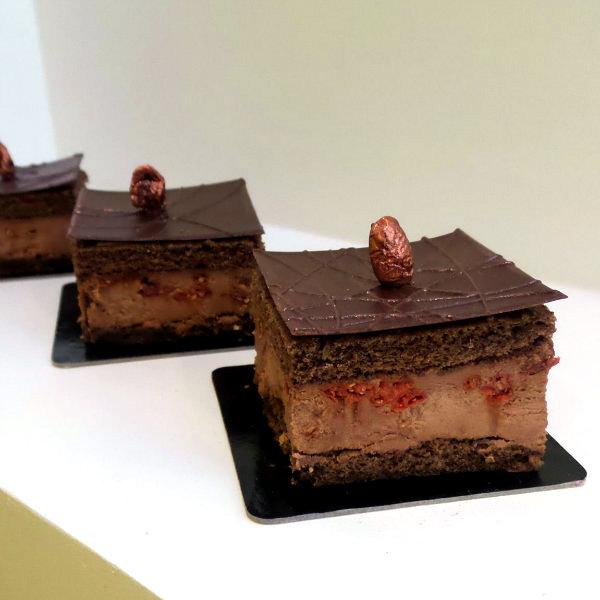 carré chocolat Pâtisserie Eugène