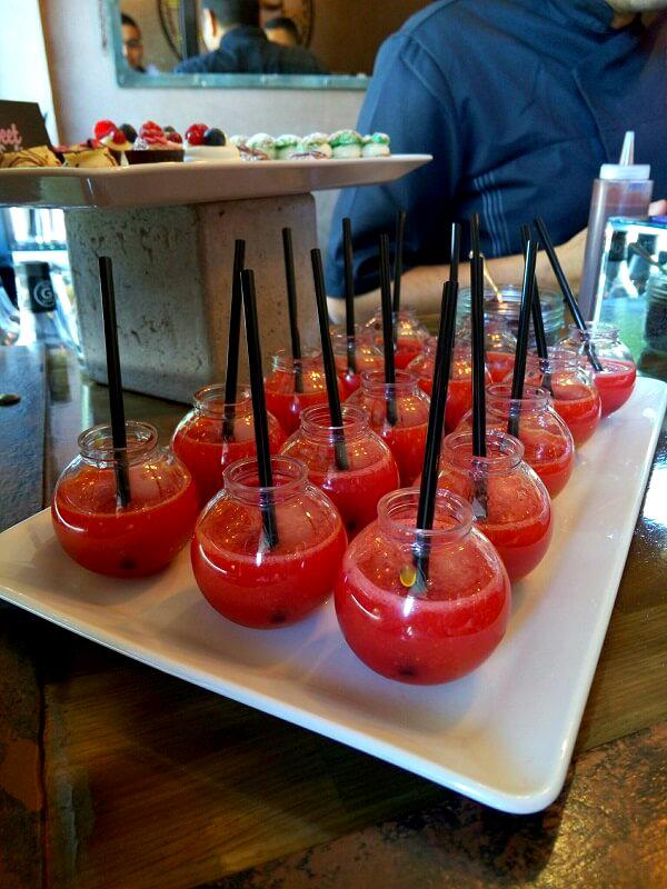 jus de fraise Baili