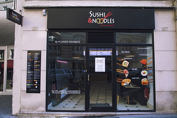 restaurant Sushi & Noodles Saint-Honoré