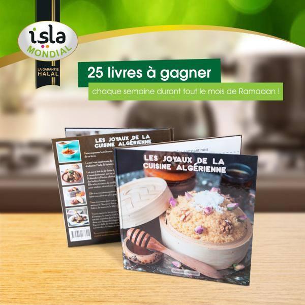isla mondial jeu les  joyaux de la cuisine algérienne