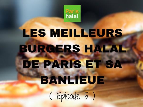 les meilleurs burgers halal