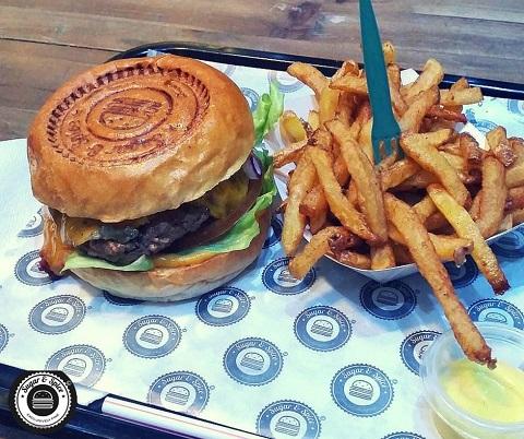 Burger halal Sugar & Spice