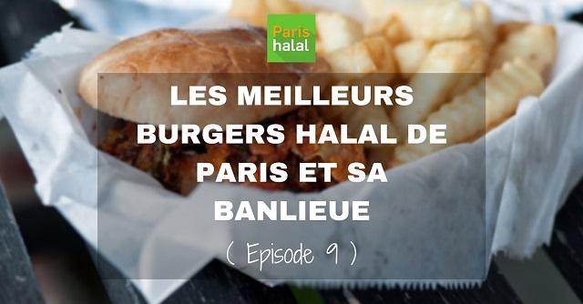 Meilleurs burgers halal Paris