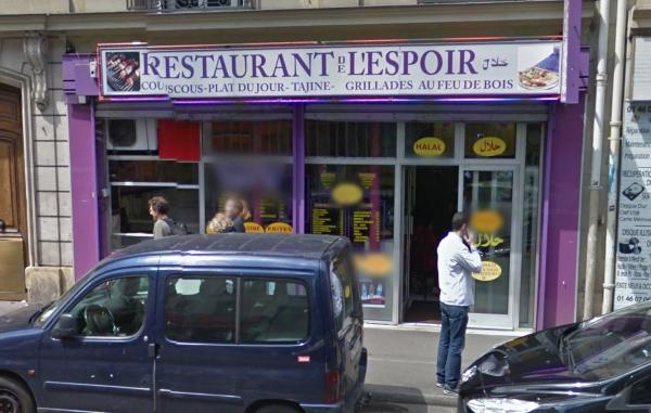 Restaurant l'Espoir Max Dormoy Paris