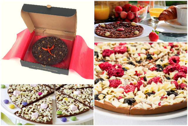 Gourmet Chocolate Pizza