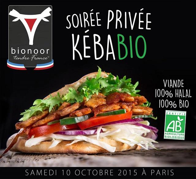 Soirée privée Kebab Bio Halal