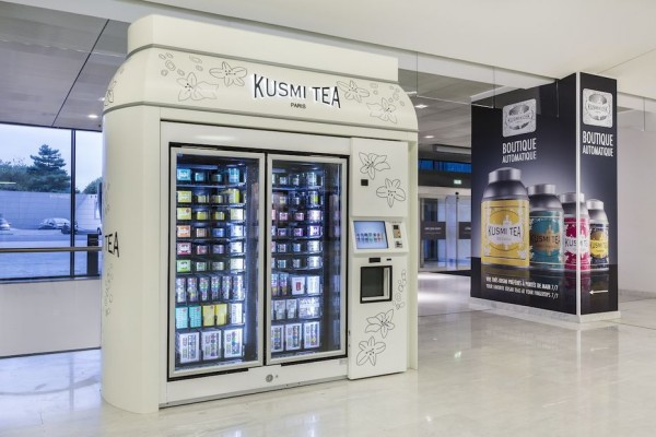 Kiosque à thé Kusmi Tea