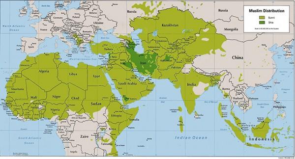 population musulmane mondiale
