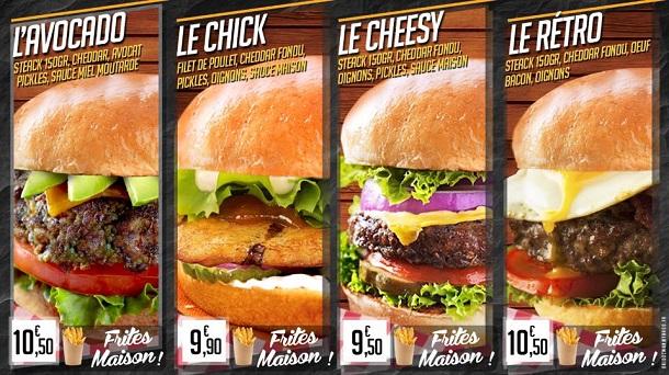 Rétro Burger Clichy